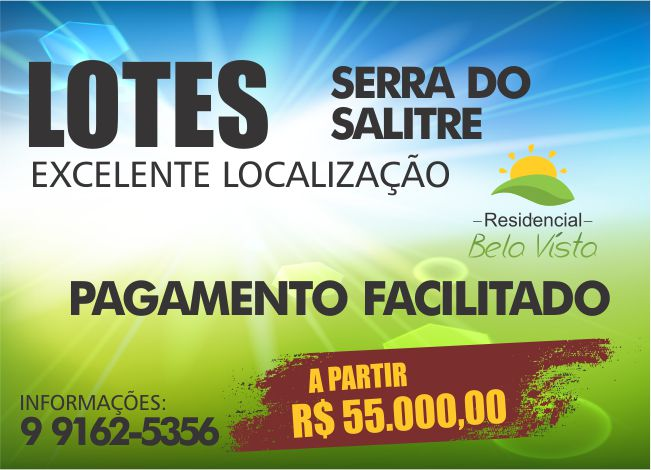 LOTES EM SERRA DO SALITRE